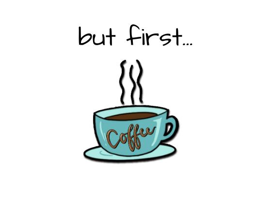 But First Coffee Postcard 5x7