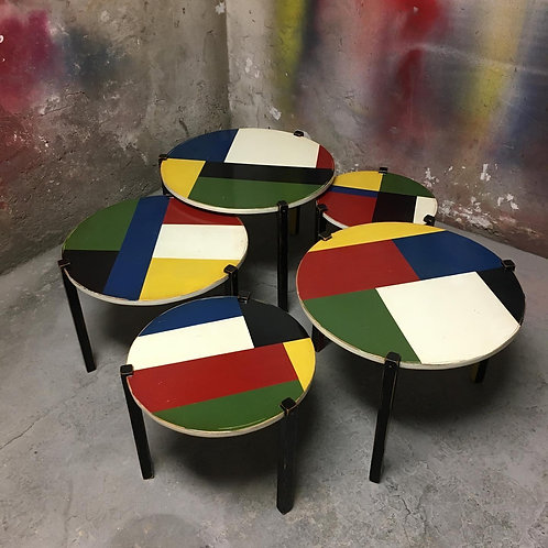 Design Mod. Malevitch coffee table set