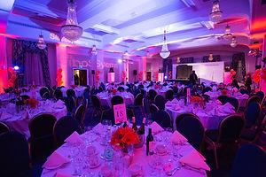 Dinner event room