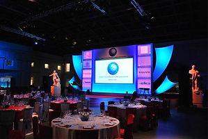 Awards ceremony stage