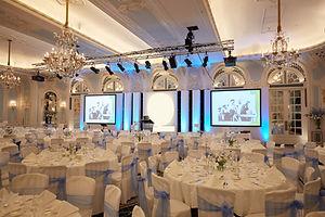 Corporate event dinner