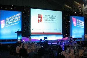 Award ceremony stage