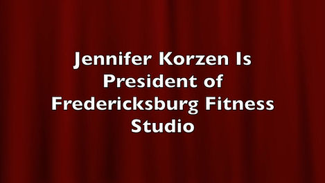 Fredericksburg Fitness Studio Jennifer Korzen