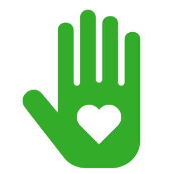 Green Heart Hand Icon.png