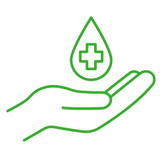 Green Donate Blood Icon.png