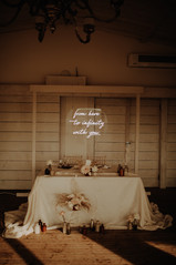 from here to infinity with you wedding neon 4