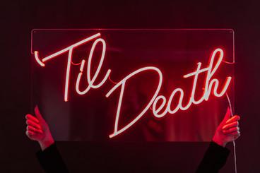 til death wedding neon 4