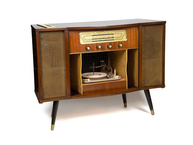 Vintage Radiogram Postbox