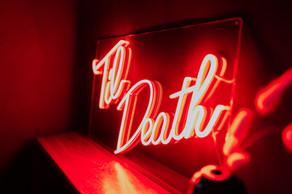 til death wedding neon 10