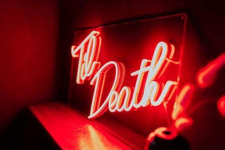 til death wedding neon 5