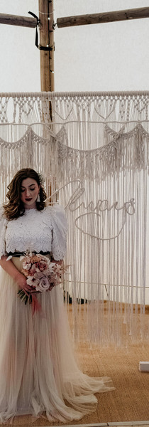 'Always' Macrame Backdrop