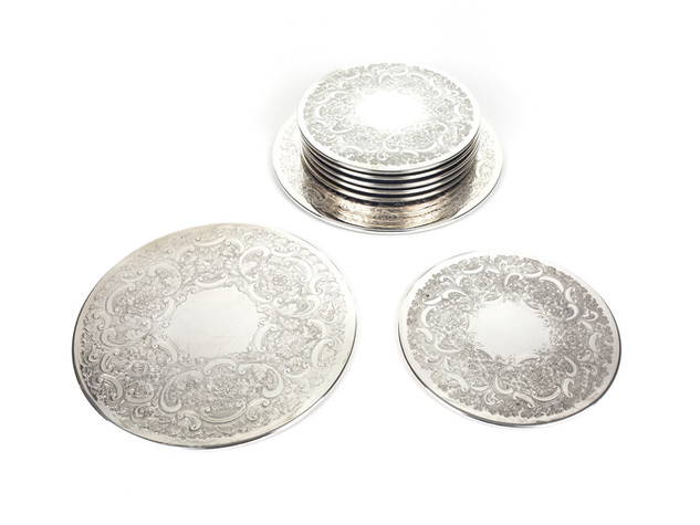 Silver Cake Plates