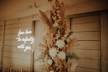 from here to infinity with you wedding neon 3
