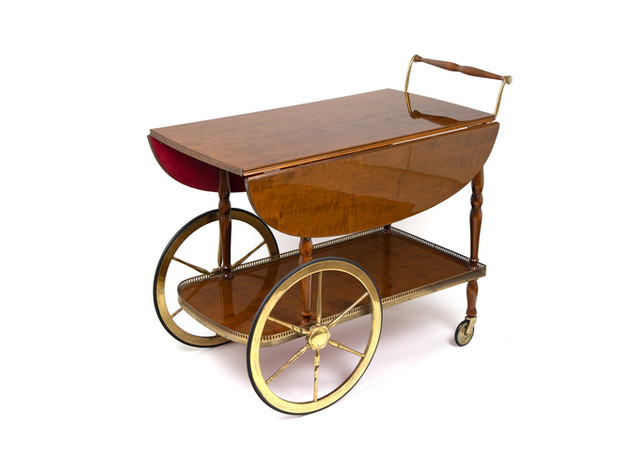 Vintage Italian Tea Trolly