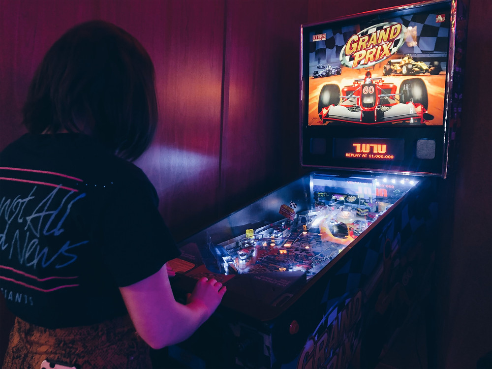 Pinball fun at Penny Lane Nottingham