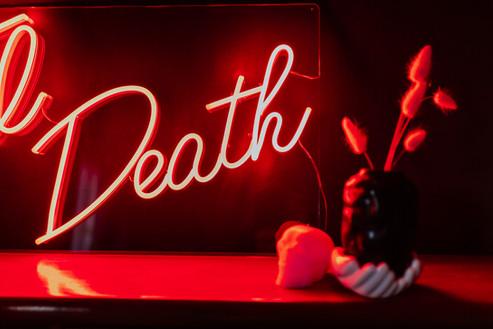 til death wedding neon 3