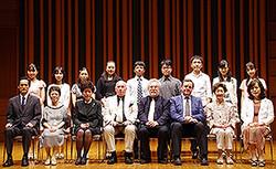 福田靖子賞選考会~世界に羽ばたく高校生以下のピアニスト