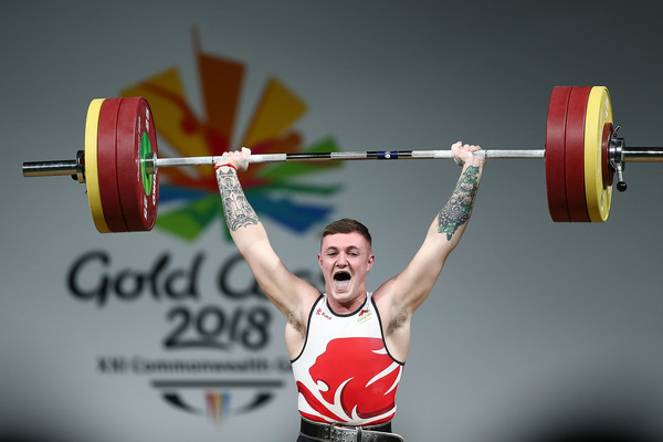 Alex+Collier+Weightlifting+Commonwealth+