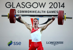 Shaun Clegg - 20th Commonwealth Games Day