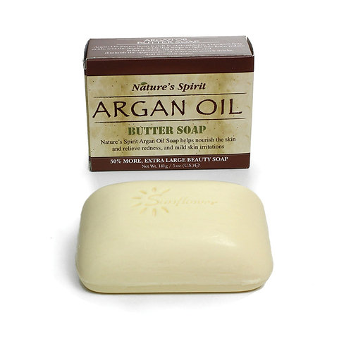 Nature's Spirit: Argan Oil Soap