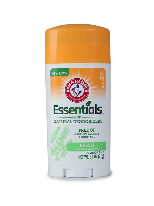 Arm and Hammer Essentials Natural Deodorant: Fresh