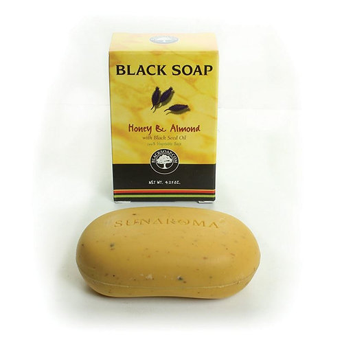 Black Soap: Honey Almond