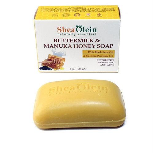 Shea Olein: Buttermilk & Manuka Honey Soap