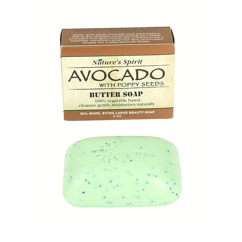 Nature's Spirit:Avocado with Poppy Seeds Soap
