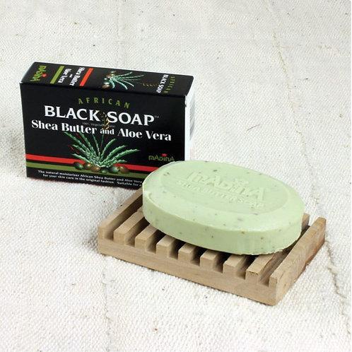 Black Soap: Shea Butter and Aloe Vera