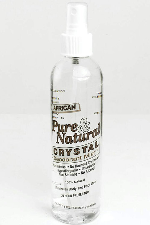 African Pure and Natural Deodorant Mist