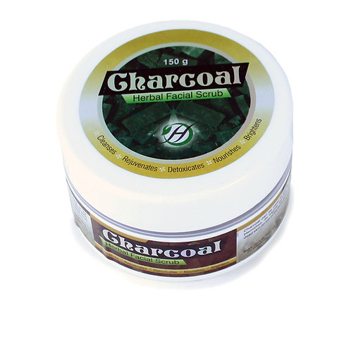 Charcoal Herbal Facial Scrub