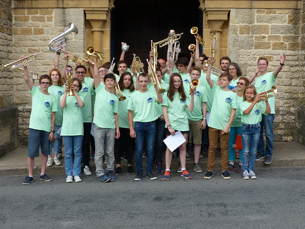 L'académie de trompette Bourbon-Cuivré fête ses 10 ans!!!