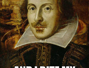 Shakespearean Writing Contest