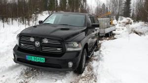 Innkjøp av 3 nye Dodge RAM 1500