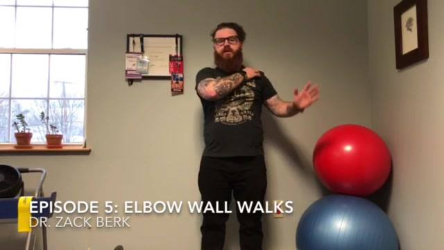 🎬Episode 5🎬: Elbow Wall Walks . Did you know that regions of your body like stability while others like mobility?  . Today I am going to show you how to stabilize your shoulders 💪(improving scapular stability) while improving thoracic mobility🔁 in ON