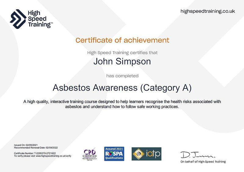 Certificate Asbestos.JPG