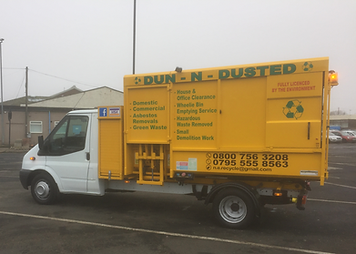 Dun N Dusted - Wheelie Bin Emptying Services