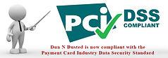 PCi - DSS COMPLIANT