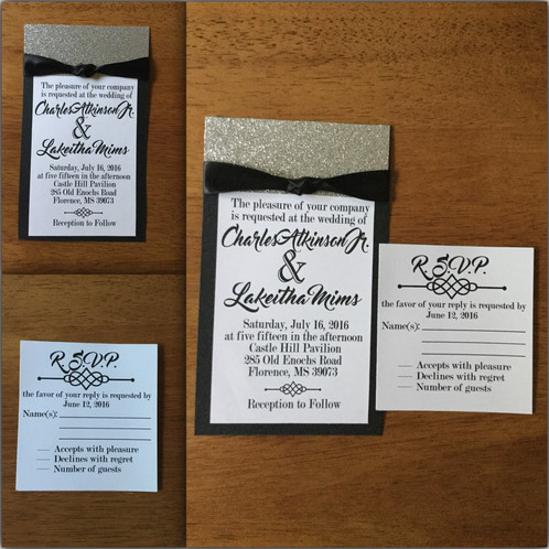 Personalized Wedding Invitations.Wedding Invitations Rsvp