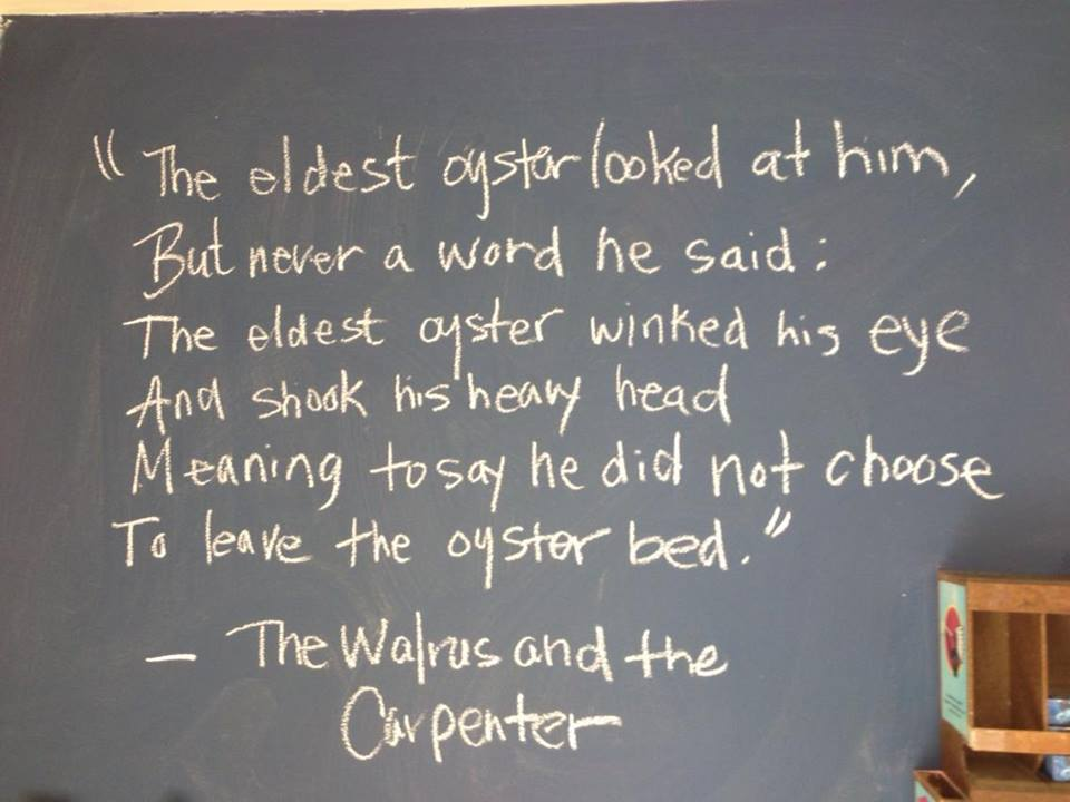 walrus and the carpenter