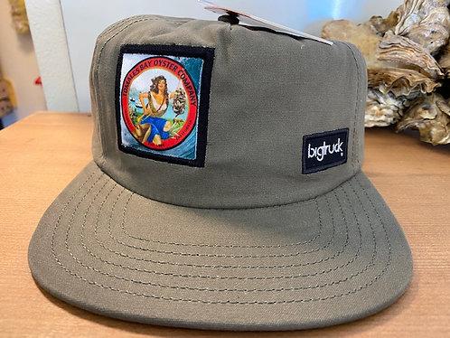 BIGTRUCK  Hat, 5 Panel Olive Green
