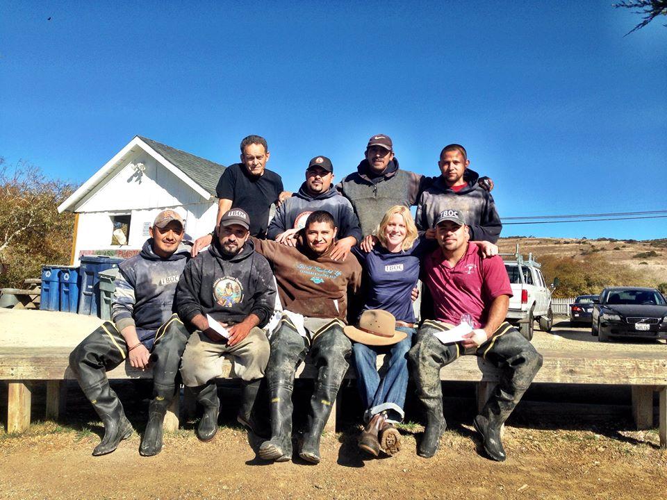Tod, Heidi and Crew
