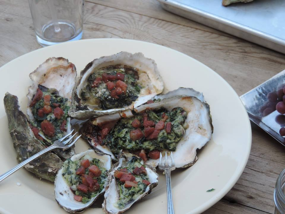 Oysters Rockystyle