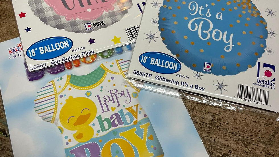 New Arrival Baby Balloon
