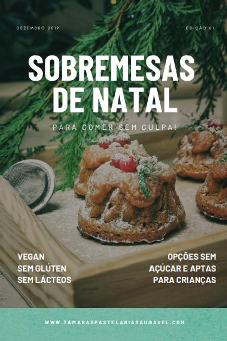 e-book Sobremesas de Natal