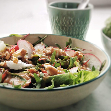 Molho de Tâmara e Miso para Salada