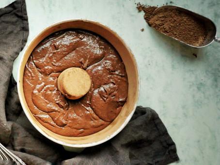 Bolo de Cacau & Chocolate