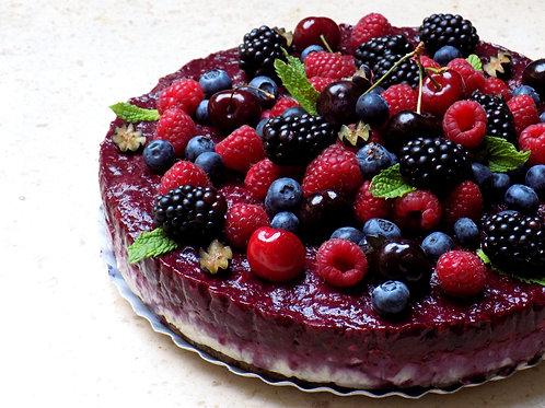No-cheesecake de Frutos Vermelhos