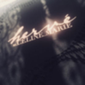 LOGO Herve by Celine Marie black and gold