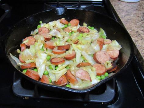 Delicious Cabbage & Sausage